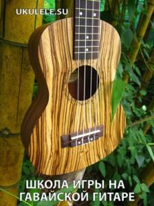 Как играть на укулеле - школа игры на гавайской гитаре
